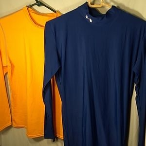 UnderArmour & Nike Long sleeve Athletic tops Large